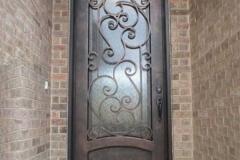 двері коване залізо