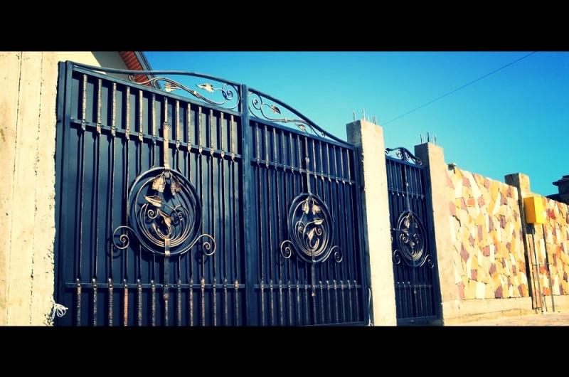 Ковані воротас. Сокільники№50