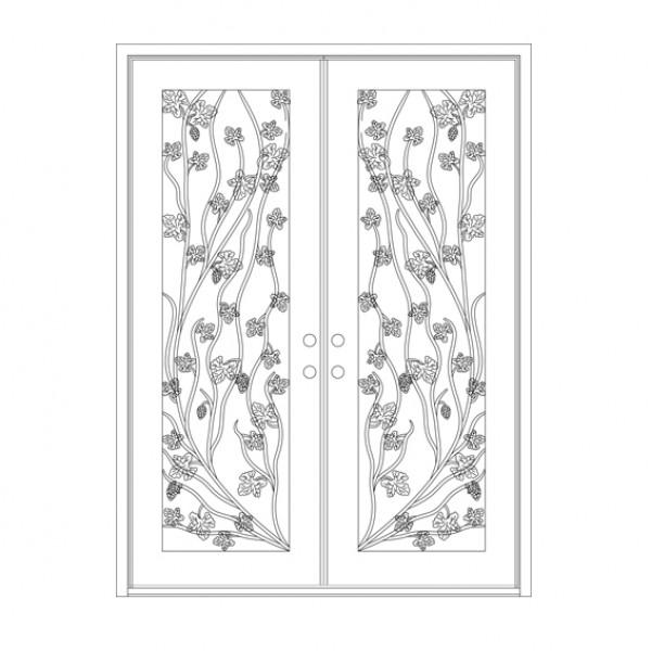 72x96 Square Top 13 Napa Double Door-600x600