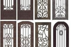 ескізи ковка двері