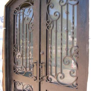 Вхідні Двері З Кованого Заліза